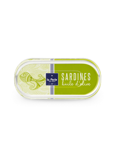 Sardines à l'huile d'olive vierge extra 46g