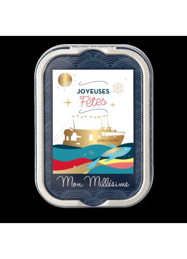 """Sardines Millésimées """"Joyeuses Fêtes"""" - Edition limitée"""