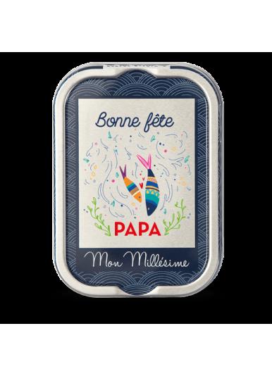 """Sardines Millésimées """"Bonne Fête Papa"""""""
