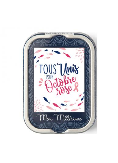 """Sardines Millésimées """"Octobre rose 2021"""""""