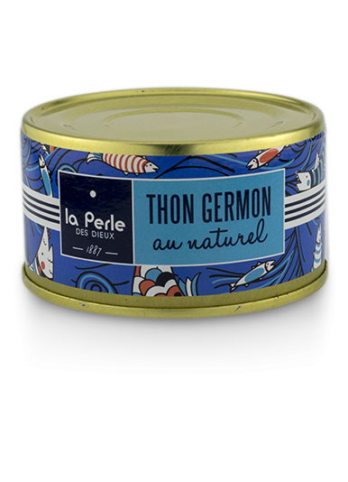 Thon germon au naturel 132gr