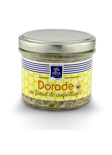 Dorade au fumet de coquillages