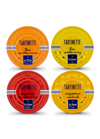 Assortiment de tartinettes