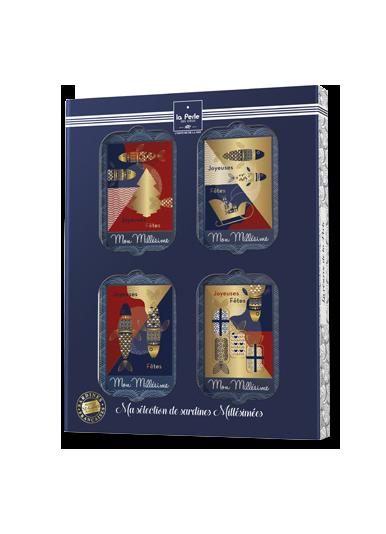 """Coffret collector 4 Millésimes """"Joyeuses Fêtes"""""""