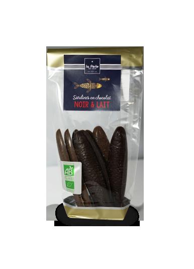 Sardines en chocolat Noir et Lait
