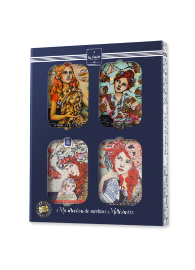 "Coffret collector "" Le tour du monde de Perle """