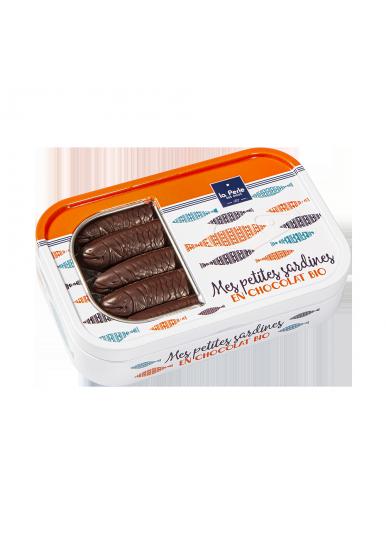 Sardines en chocolat noir