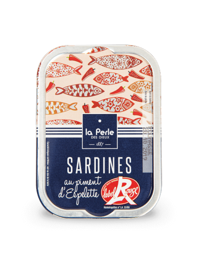 Sardines Label Rouge au piment d'Espelette