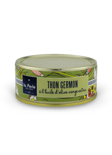 Thon blanc germon à l'huile d'olive vierge extra