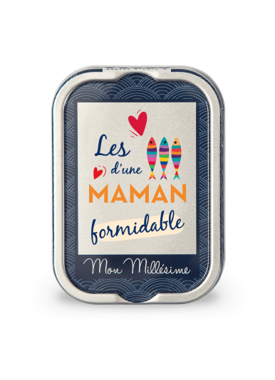 """Sardines Millésimées """"D'une maman formidable"""""""